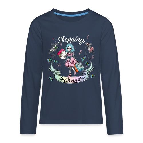 Shopping für immer & ewig - Teenager Premium Langarmshirt