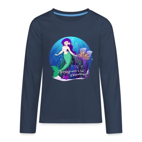 Meerjungfrauen-Club-Nixe1 - Teenager Premium Langarmshirt