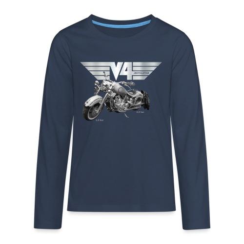 Royal Star silver Wings - Teenager Premium Langarmshirt