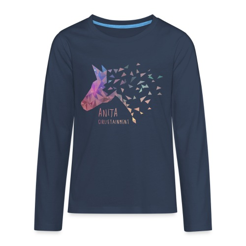 AnitaGirlietainmentGalaxy - Teenager Premium Langarmshirt