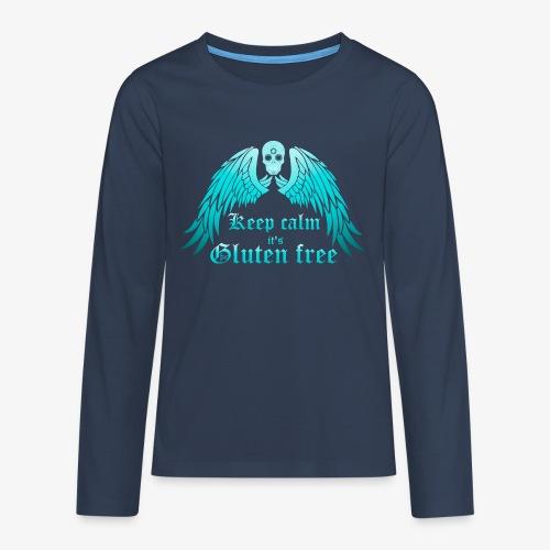 Keep calm it's Gluten free - Teenagers' Premium Longsleeve Shirt