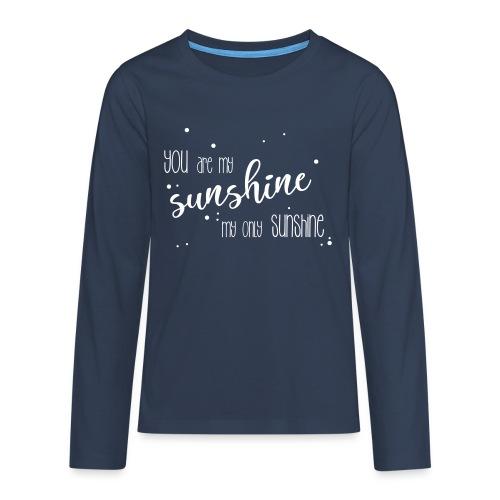 shirtsbydep sunshine - Teenager Premium shirt met lange mouwen