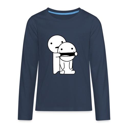 Lachen! - Teenager Premium shirt met lange mouwen