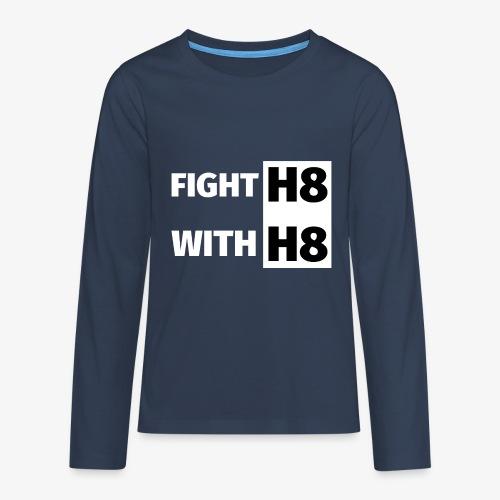 FIGHTH8 bright - Teenagers' Premium Longsleeve Shirt