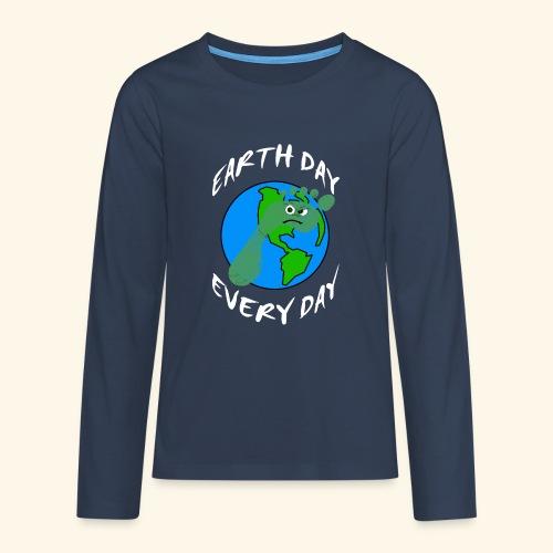 Earth Day Every Day - Teenager Premium Langarmshirt