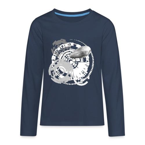 zeppelin - Teenager Premium Langarmshirt