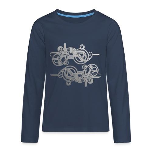 machine - Teenager Premium Langarmshirt