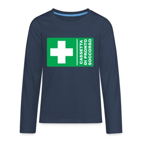 cartello png - Maglietta Premium a manica lunga per teenager
