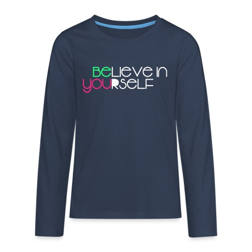 be you - Maglietta Premium a manica lunga per teenager