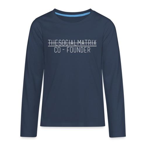 JAANENJUSTEN - Teenager Premium shirt met lange mouwen