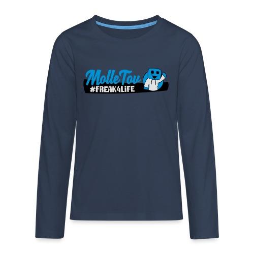 Nyt Logo4 - Teenager premium T-shirt med lange ærmer