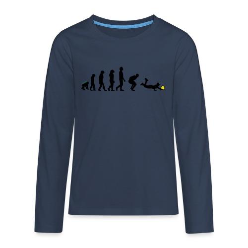 Evolution Defense - Maglietta Premium a manica lunga per teenager