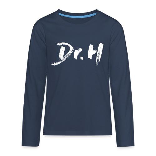 Sweat enfant Docteur H - T-shirt manches longues Premium Ado