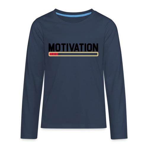 Keine Motivation - Teenager Premium Langarmshirt