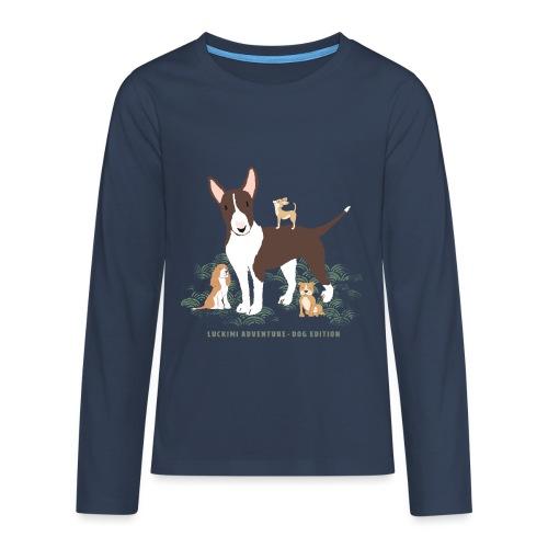 Dog edition - Kids - Teenagers' Premium Longsleeve Shirt
