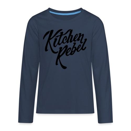 Kitchen Rebel - Teenagers' Premium Longsleeve Shirt