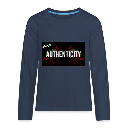 Authenticity - T-shirt manches longues Premium Ado