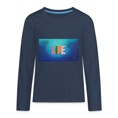 Life - Teenager Premium Langarmshirt