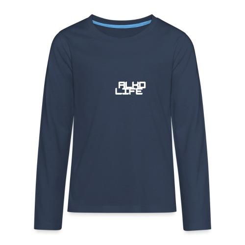 Projektowanie nadruk koszulki 1547218658149 - Koszulka Premium z długim rękawem dla nastolatków