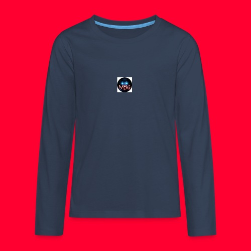 logo jpg - Teenagers' Premium Longsleeve Shirt