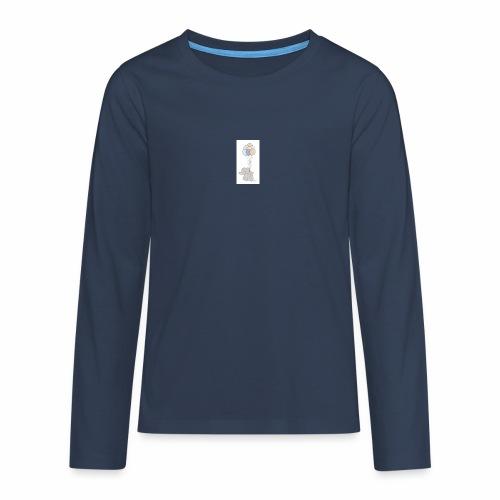 B1A831CF 74F5 4A72 AD33 E76EF0C50A50 - Teenager premium T-shirt med lange ærmer