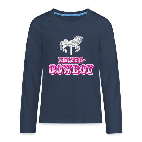 Kirmescowboy - Teenager Premium Langarmshirt