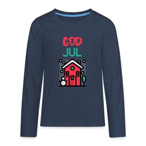 God jul - Premium langermet T-skjorte for tenåringer
