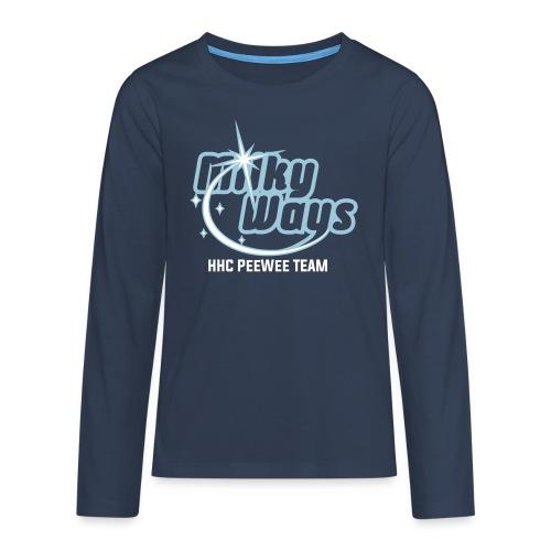 MilkyWays - Teenager Premium Langarmshirt