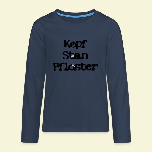 KSP Schrift - Teenager Premium Langarmshirt