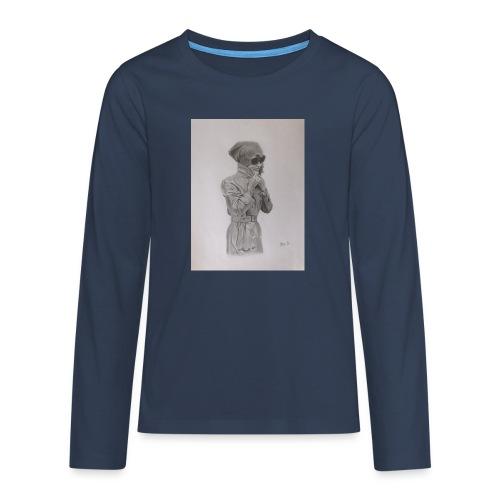 Colección Jacky - Camiseta de manga larga premium adolescente