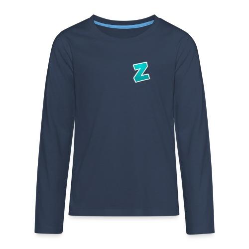 Z3RVO Logo! - Teenagers' Premium Longsleeve Shirt