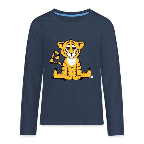 Tiger cub - Teenagers' Premium Longsleeve Shirt