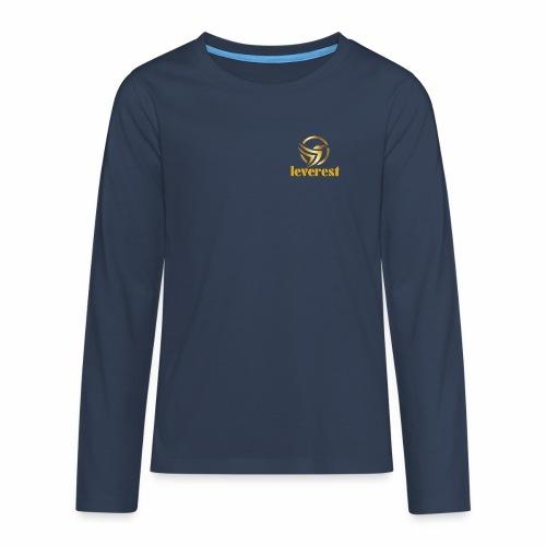 Leverest-Mode - Teenager Premium Langarmshirt