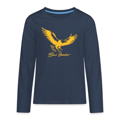 Eagle Bow Hunter - Teenager Premium Langarmshirt