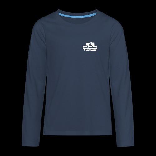 LBL Original white png - Teenagers' Premium Longsleeve Shirt