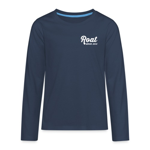 Roat since2013 - Teenager premium T-shirt med lange ærmer