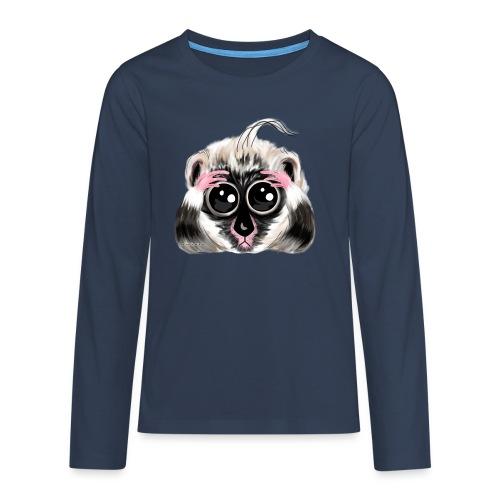 Lemur design / print - Teenagers' Premium Longsleeve Shirt