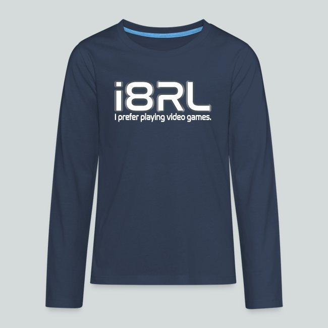i8RL - I prefer playing video games.