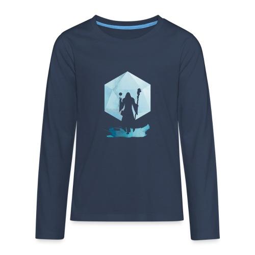 Legendaarinen Mage - Dungeons and Dragons d20 - Teinien premium pitkähihainen t-paita