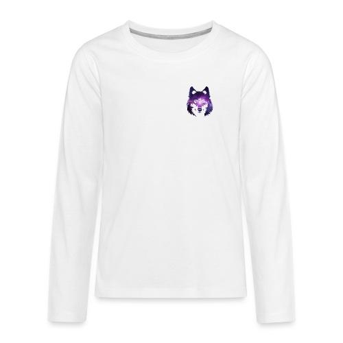 Galaxy wolf - T-shirt manches longues Premium Ado