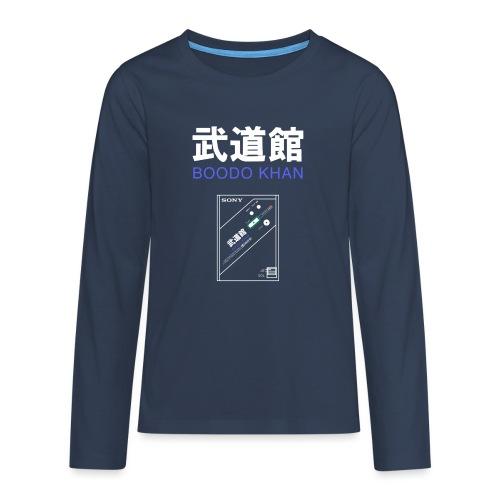 SONY Boodo Khan walkman, the legendary - Teenagers' Premium Longsleeve Shirt