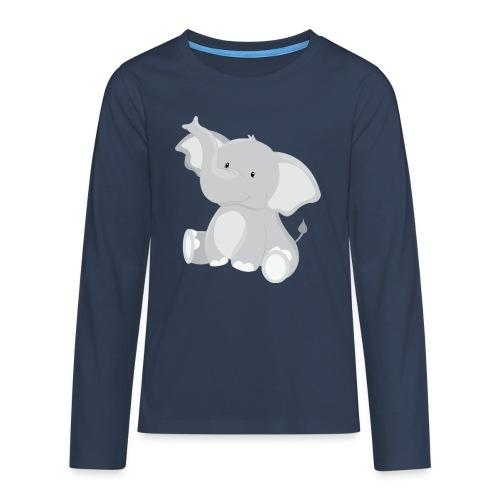 ELEFANT - Teenager Premium Langarmshirt