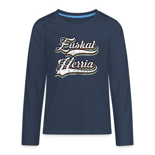 Euskal Herria Grunge - Camiseta de manga larga premium adolescente