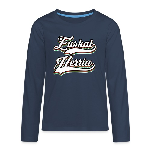 Euskal Herria - Camiseta de manga larga premium adolescente