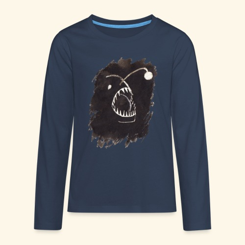 I djupet - Långärmad premium T-shirt tonåring