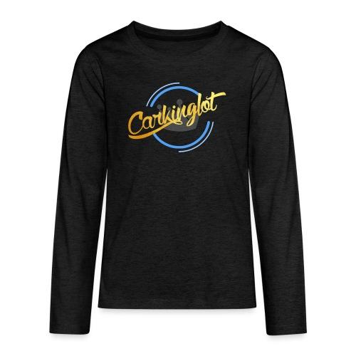 Carkinglot Transparant - Teenager Premium shirt met lange mouwen