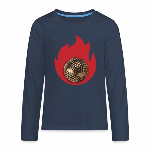 petanque fire - T-shirt manches longues Premium Ado