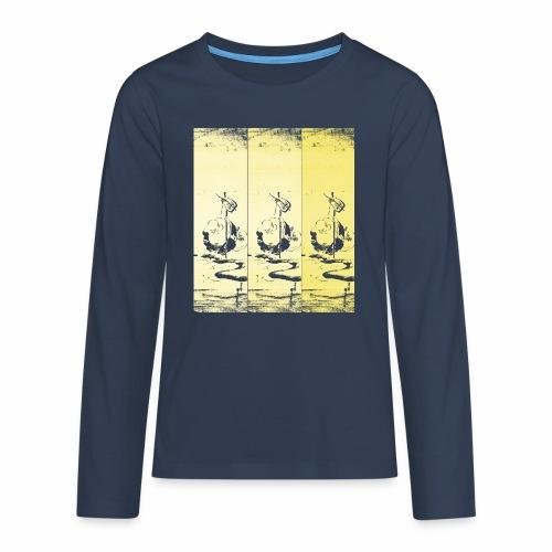hotei - utagawa kuniyoshi - Teenager Premium Langarmshirt