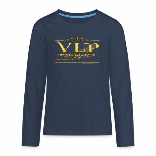 very loved person - Teenager Premium Langarmshirt