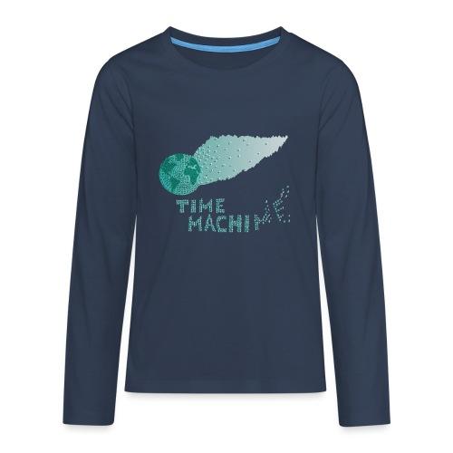 Time Machine - Teenager Premium Langarmshirt